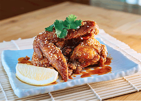 SPICY FIRE CHICKEN WINGS